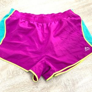 Reebok Workout Shorts Magenta RBX Drawstring